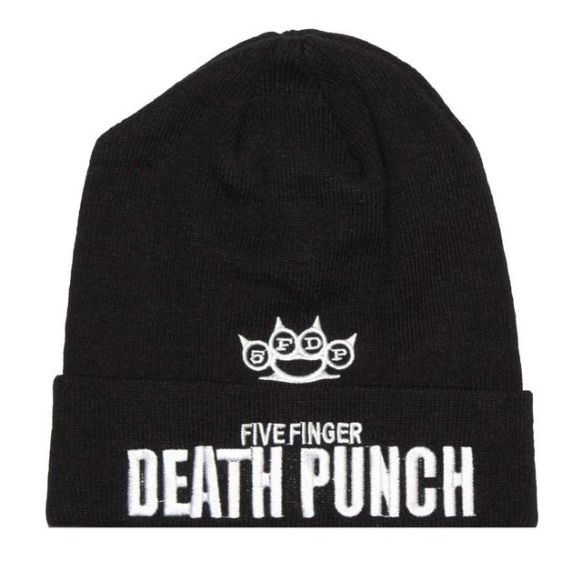 Five Finger Death Punch Knuckle Logo Beanie Hat