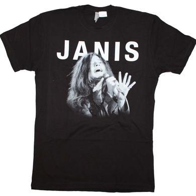 Janis Joplin T Shirt | Janis Joplin Singing T-Shirt