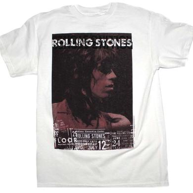 Rolling Stones T Shirt | Rolling Stones Keith Vintage Live T-Shirt