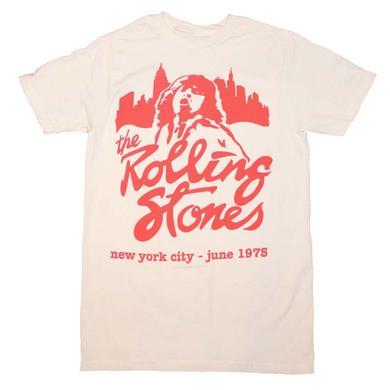 Rolling Stones T Shirt | Rolling Stones Mick June 1975 T-Shirt