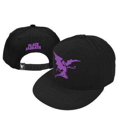 Black Sabbath Purple Angel New Era Snap Back Hat