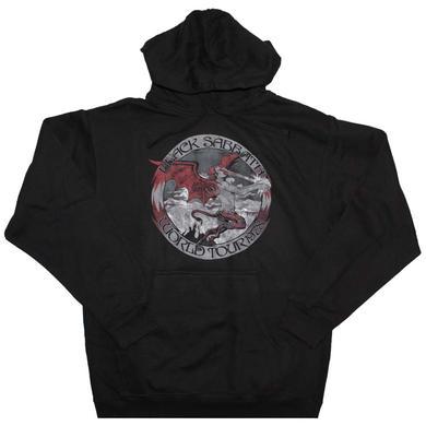Black Sabbath Tour 78 Pullover Hooded Sweatshirt