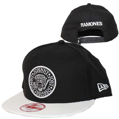 Ramones Seal Black and White New Era Hat