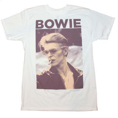 David Bowie T Shirt   David Bowie Smoking T-Shirt