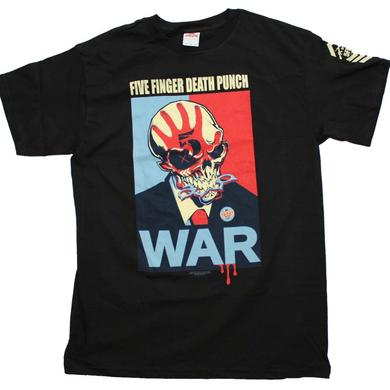 Five Finger Death Punch T Shirt | Five Finger Death Punch War T-Shirt