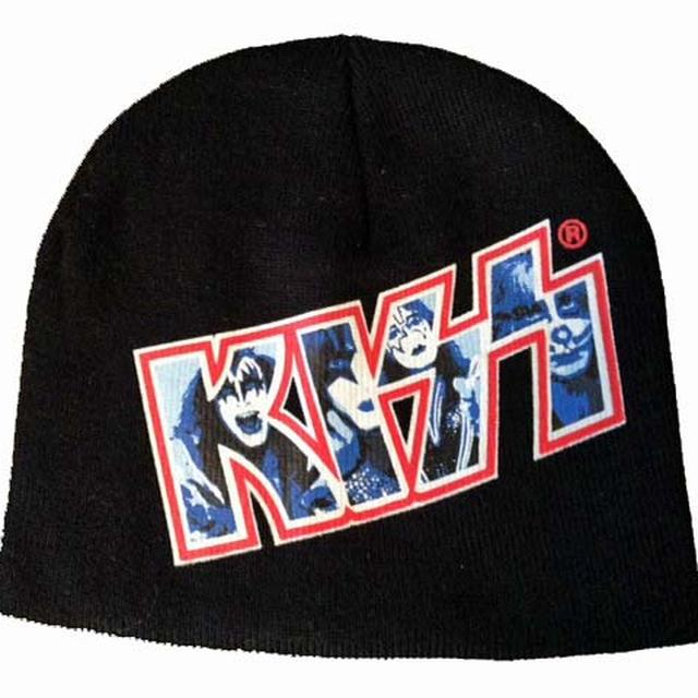 KISS Photo Logo Beanie Hat