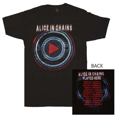 Alice in Chains T Shirt | Alice in Chains Played Here Tour T-Shirt