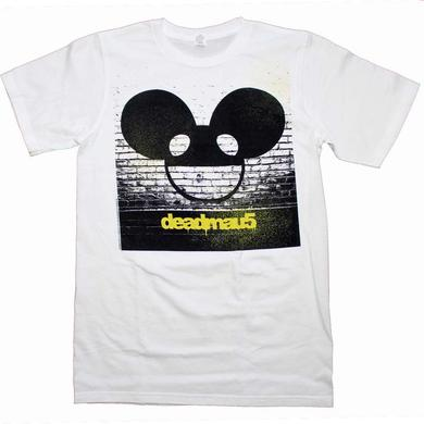Deadmau5 T Shirt | Deadmau5 Brick Wall Logo T-Shirt