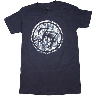 Foo Fighters T Shirt | Foo Fighters City Circle Logo T-Shirt