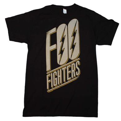 Foo Fighters T Shirt | Foo Fighters Slanted Logo Slim Fit T-Shirt