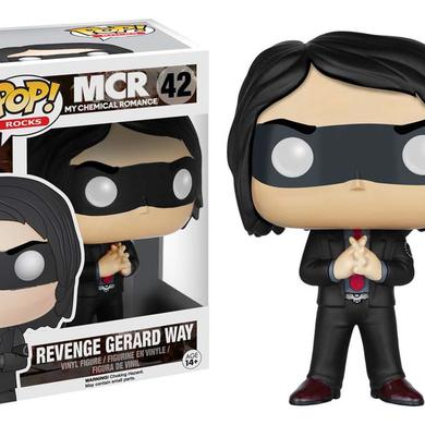 Funko Toys My Chemical Romance Red Tie Gerard Way Pop Rocks Vinyl Figure