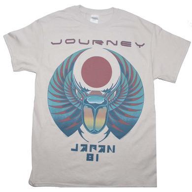 Journey T Shirt   Journey Japan '81 T-Shirt