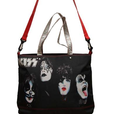KISS Painted Faces Rock & Roll Tote Bag
