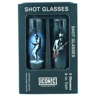 Joe Bonamassa Red Guitar Shot Glasses (2 Pack)