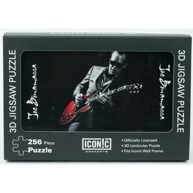 Joe Bonamassa Red Guitar 3D Puzzle (252 Pieces)
