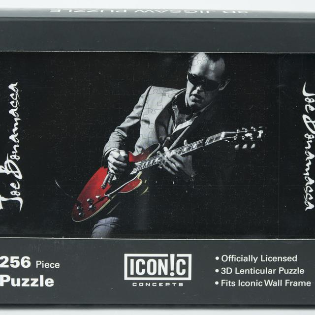 Joe Bonamassa Red Guitar 3D Puzzle (252 Pieces)