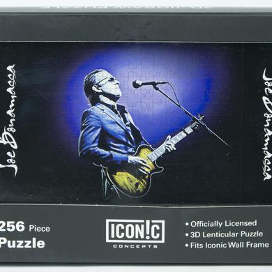 Joe Bonamassa Gold Guitar Blue Jacket 3D Puzzle (252 Pieces)