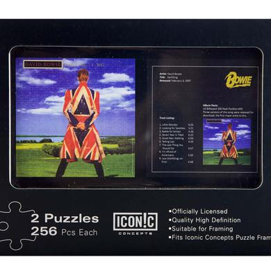 David Bowie Earthling Dual Puzzle Pack (2 Puzzles)