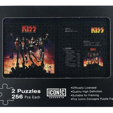 KISS Destroyer Dual Puzzle Pack (2 Puzzles)