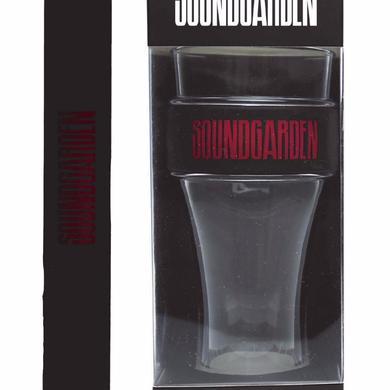 Soundgarden Red Logo Heavy Duty Slap Band Pint Glass