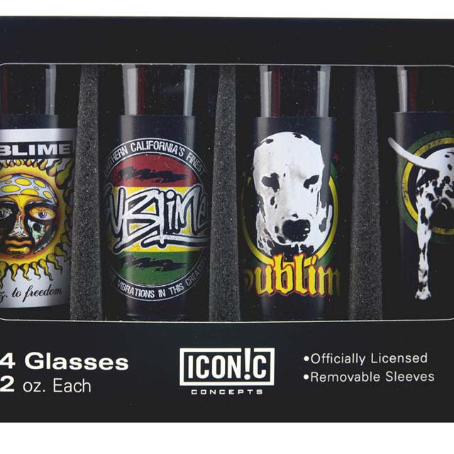 Sublime Shot Glasses Set (4 Pack)