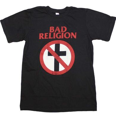 Bad Religion T Shirt | Bad Religion Distressed Crossbuster T-Shirt