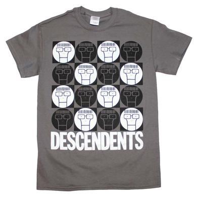 Descendents T Shirt | Descendents Milo Circle Pattern T-Shirt