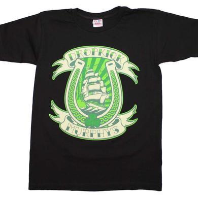 Dropkick Murphys T Shirt | Dropkick Murphys Horseshoe T-Shirt