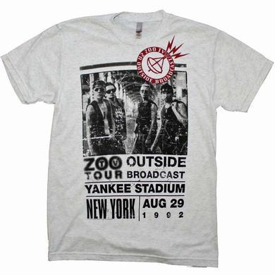 U2 T Shirt   U2 Outside Zoo Tour Slim Fit T-Shirt