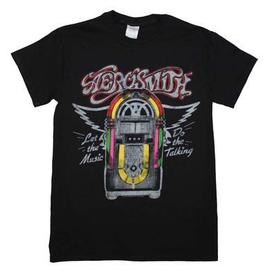 Aerosmith T Shirt | Aerosmith Juke Box T-Shirt