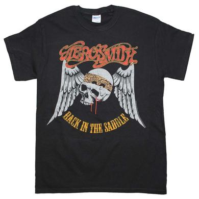 Aerosmith T Shirt | Aerosmith Back in the Saddle T-Shirt
