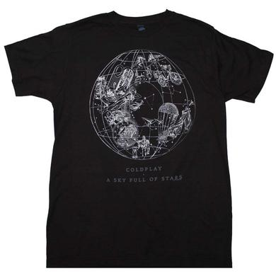 Coldplay T Shirt | Coldplay Sky Full of Stars T-Shirt