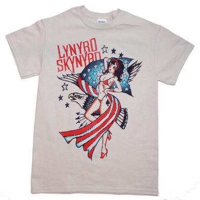 Lynyrd Skynyrd T Shirt | Lynyrd Skynyrd Lady Liberty T-Shirt