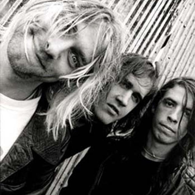 Nirvana Kurt Cobain Group Shot Fabric Poster