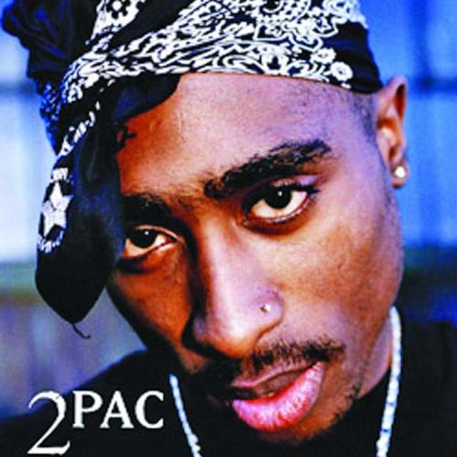 Tupac Portrait Fabric Poster