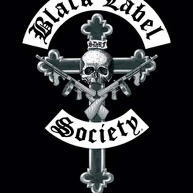 Black Label Society Crucifix Fabric Poster