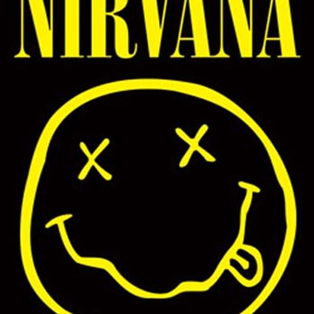 Nirvana Smiley Fabric Poster