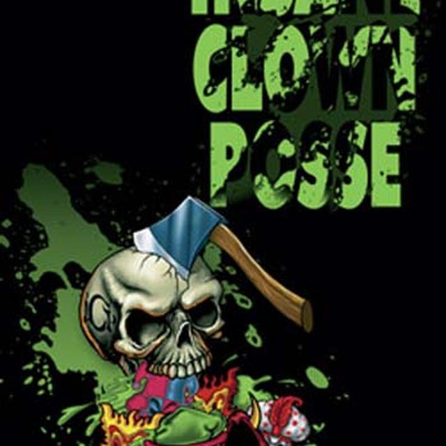 Insane Clown Posse Skull Hatchet Fabric Poster