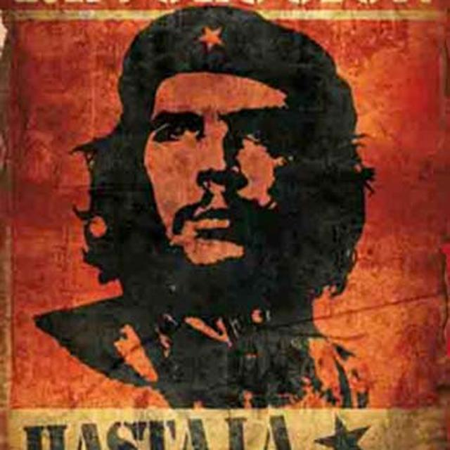Che Guevara Vintage Fabric Poster