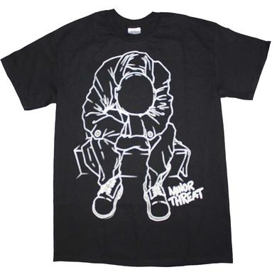 Minor Threat T Shirt | Minor Threat Outline T-Shirt