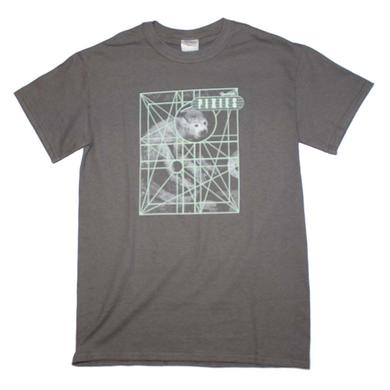Pixies T Shirt | Pixies Monkey Grid T-Shirt