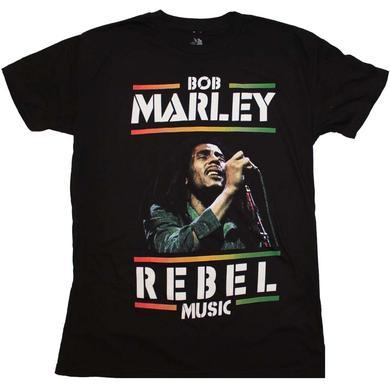 Bob Marley T Shirt | Bob Marley Rebel Music T-Shirt