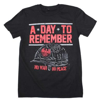 A Day to Remember T Shirt | A Day To Remember No War No Peace T-Shirt