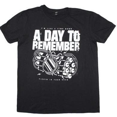 A Day to Remember T Shirt | A Day To Remember Time Bomb T-Shirt