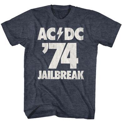 AC/DC T Shirt | AC/DC Jailbreak T-Shirt