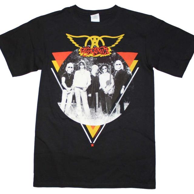 Aerosmith T Shirt | Aerosmith Band Photo T-Shirt