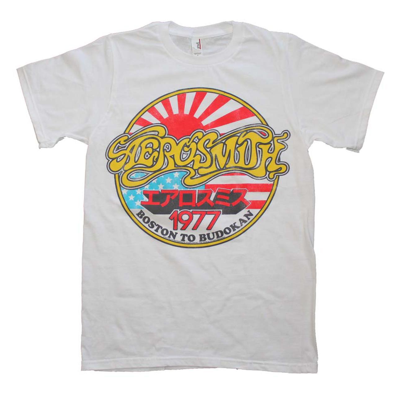 Aerosmith T Shirt Aerosmith Boston To Budokan Vintage