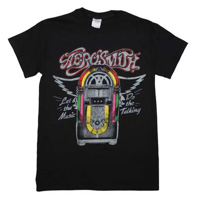 Aerosmith T Shirt | Aerosmith Juke Box T-Shirt