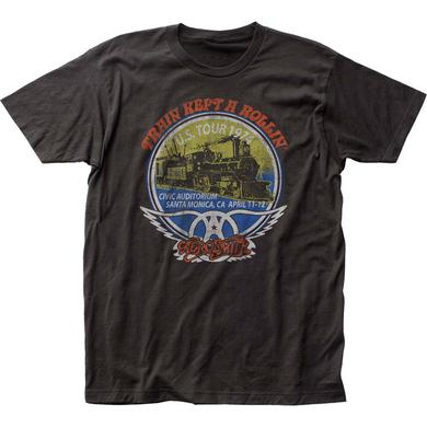 Aerosmith T Shirt | Aerosmith Train Kept A Rollin' T-Shirt