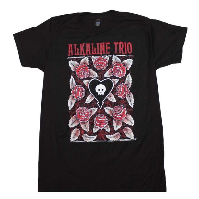 Alkaline Trio T Shirt | Alkaline Trio Roses T-Shirt